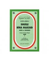 Açıklamalı Emsile Bina Maksud / Arapça kelime Bilgisi Sarf 1