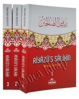 Riyazü's Salihin (3 Cilt Takım-Küçük Boy-Şamua-Ciltli)